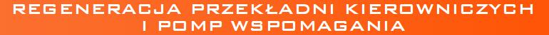 Kuzicars.pl - regeneracja przekładni kierowniczych i pomp wspomagania